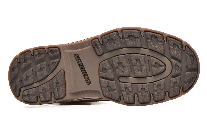 Bottines et boots Skechers Segment Amson 64593 Beige vue haut