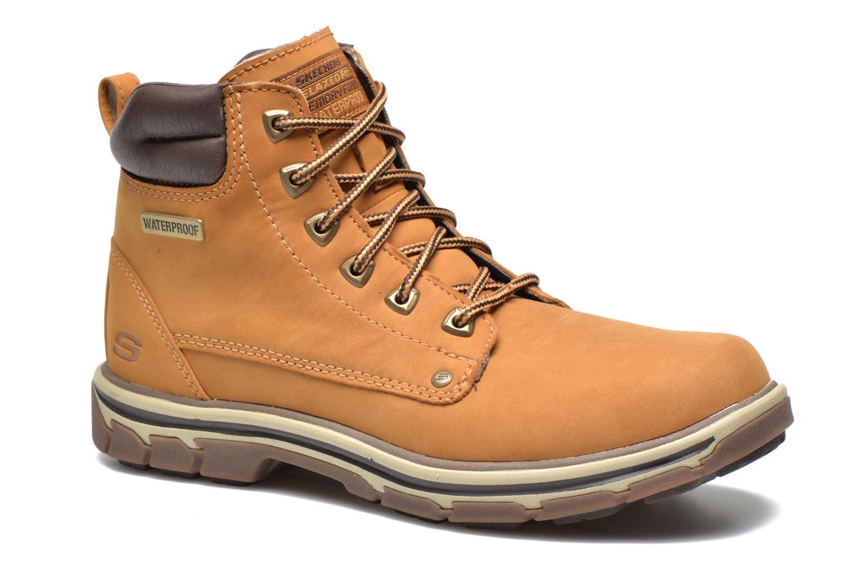 Bottines et boots Skechers Segment Amson 64593 Beige vue détail/paire