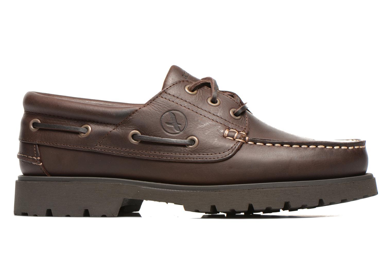 Chaussures à lacets Aigle Tarmac Marron vue derrière
