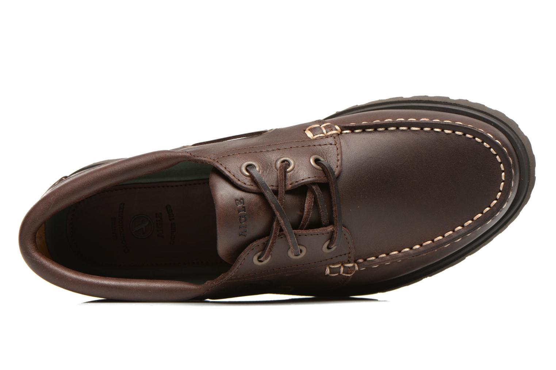 Chaussures à lacets Aigle Tarmac Marron vue gauche