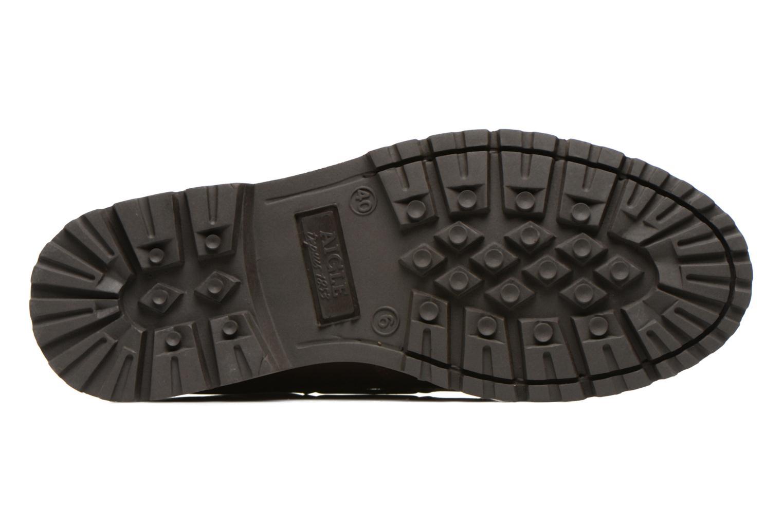 Chaussures à lacets Aigle Tarmac Marron vue haut