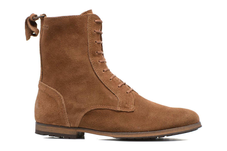 Bottines et boots Aigle Melven Marron vue derrière