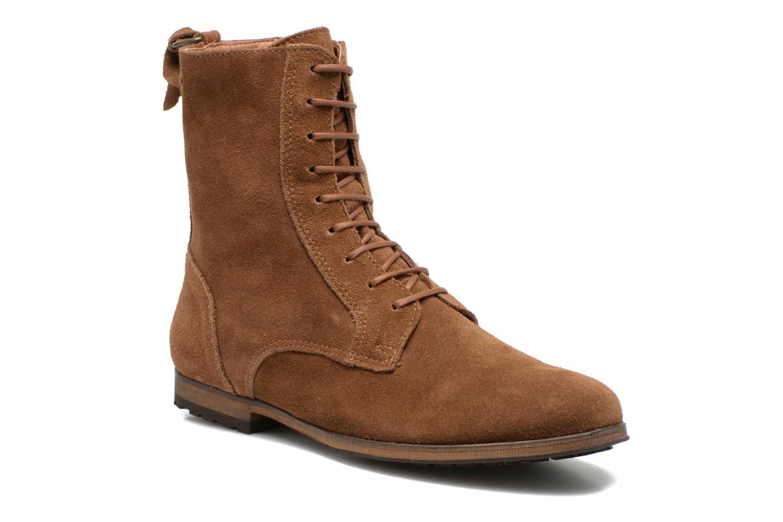 Bottines et boots Aigle Melven Marron vue détail/paire