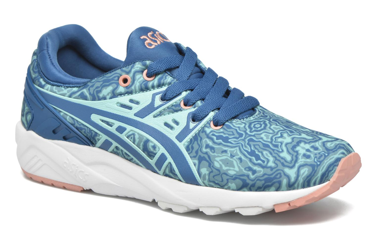 Trainers Asics Gel-Kayano Trainer Evo W Blue detailed view/ Pair view