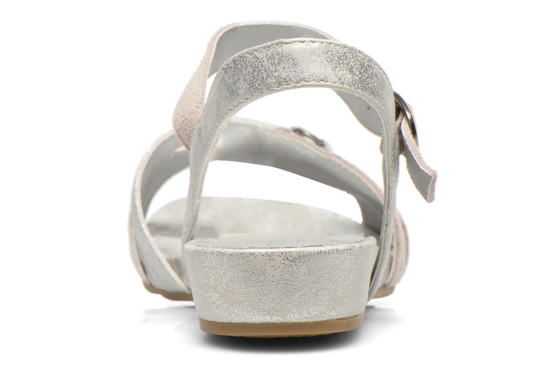 Sandales et nu-pieds Madison Emora Argent vue droite
