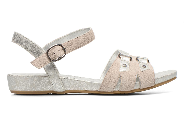Sandales et nu-pieds Madison Emora Argent vue derrière
