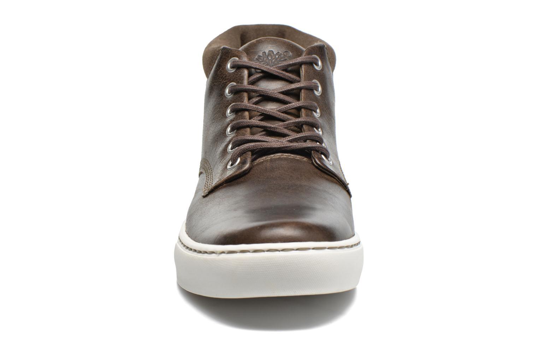 Sneakers Timberland Adventure 2.0 Cupsole Chukka Marrone modello indossato