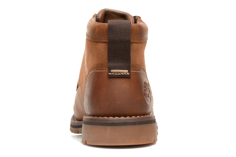 Bottines et boots Timberland Larchmont Chukka Marron vue droite