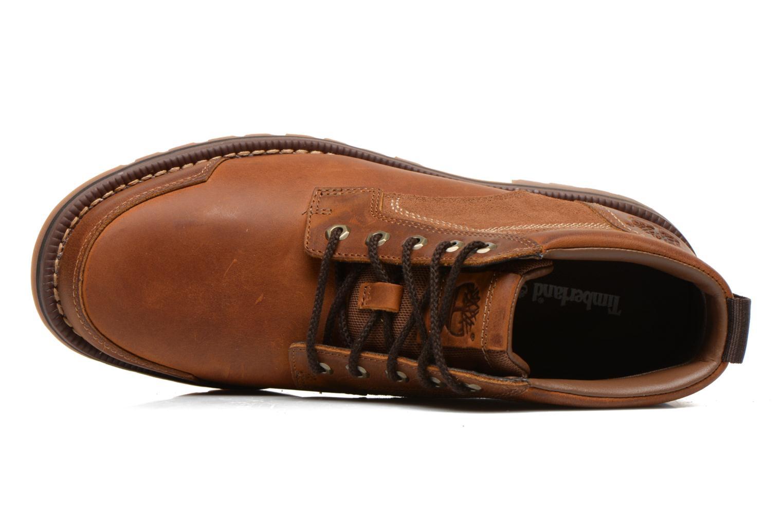 Stiefeletten & Boots Timberland Larchmont Chukka braun ansicht von links