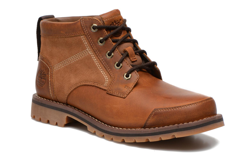 Bottines et boots Timberland Larchmont Chukka Marron vue détail/paire