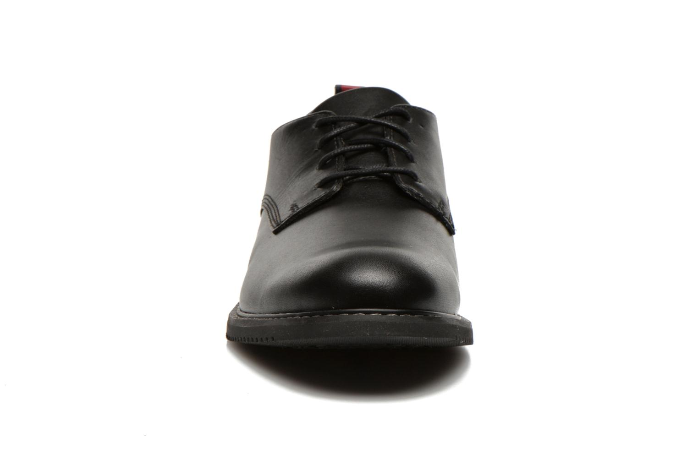 Schnürschuhe Timberland Brook Park Oxford schwarz schuhe getragen