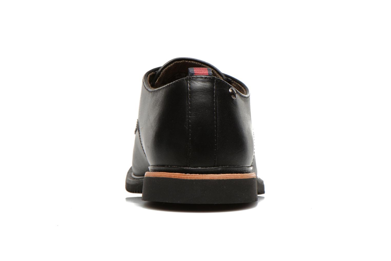 Zapatos con cordones Timberland Brook Park Oxford Negro vista lateral derecha