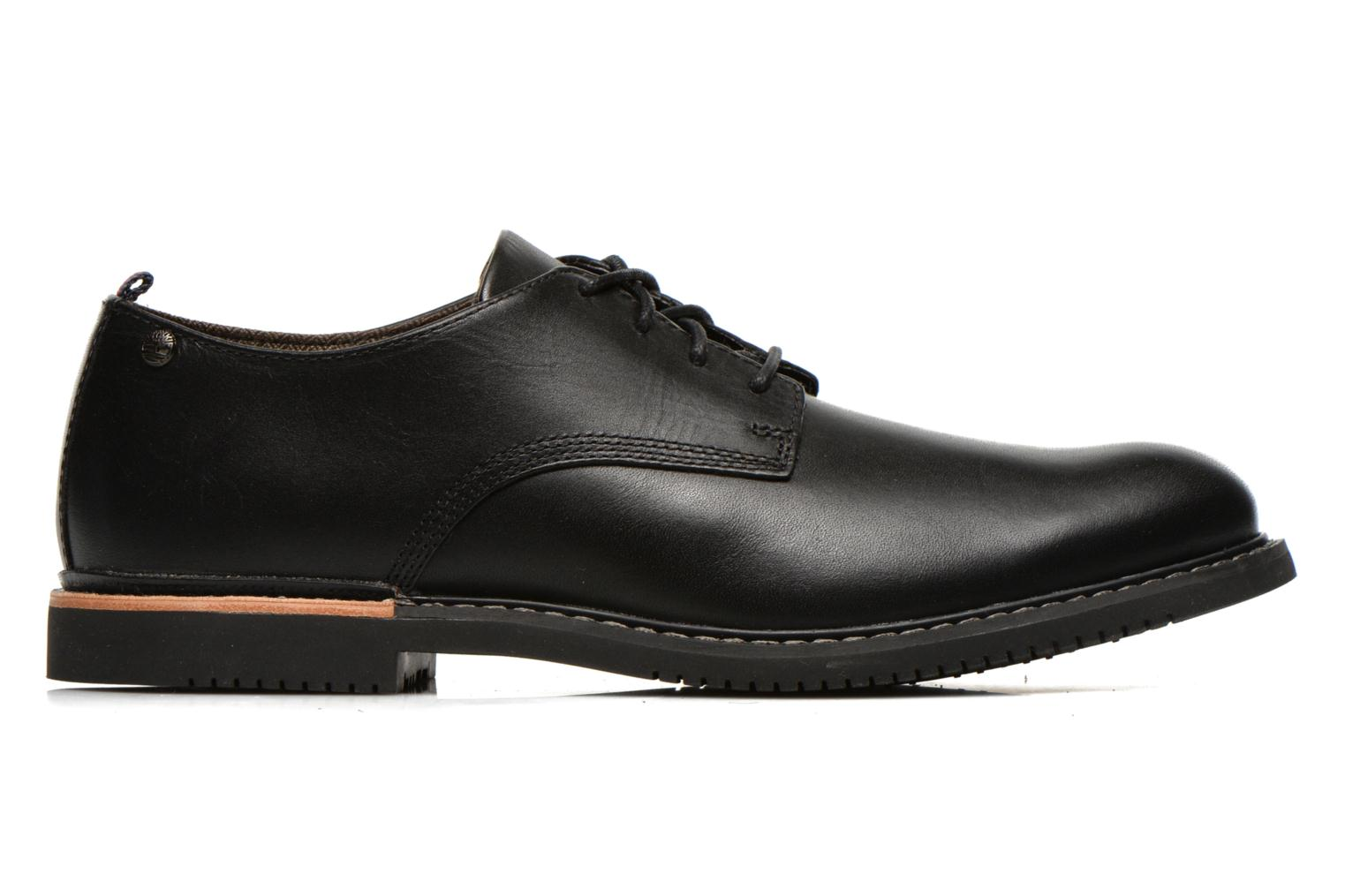 Lace-up shoes Timberland Brook Park Oxford Black back view