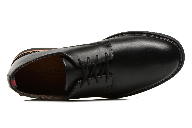 Zapatos con cordones Timberland Brook Park Oxford Negro vista lateral izquierda