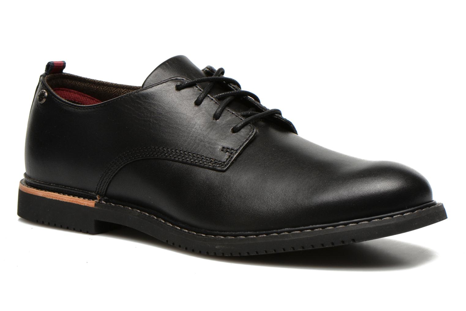 Lace-up shoes Timberland Brook Park Oxford Black detailed view/ Pair view