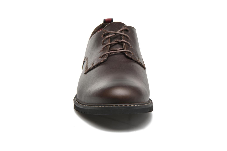 Chaussures à lacets Timberland Brook Park Oxford Marron vue portées chaussures