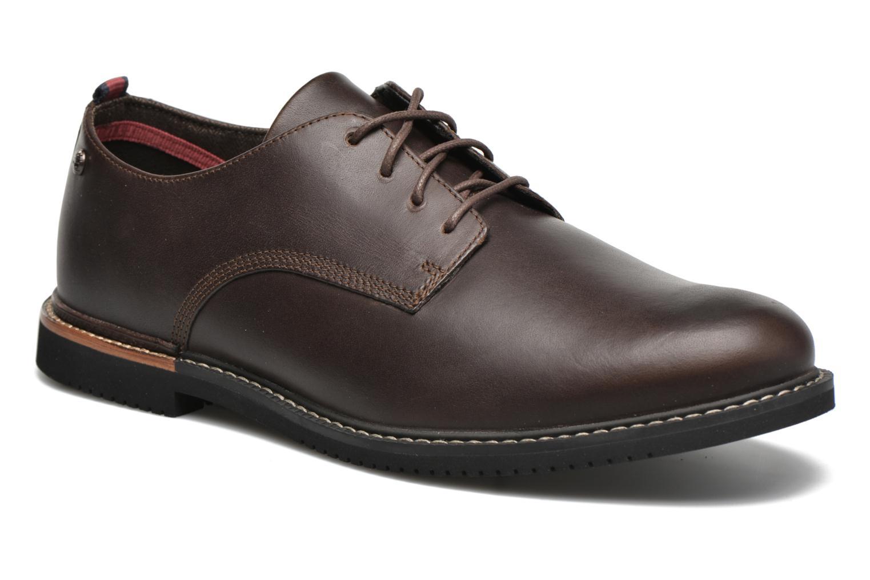 Chaussures à lacets Timberland Brook Park Oxford Marron vue détail/paire