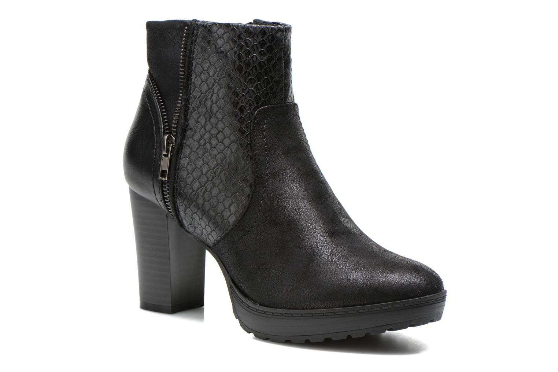 Boots en enkellaarsjes La Strada Lola Zwart detail