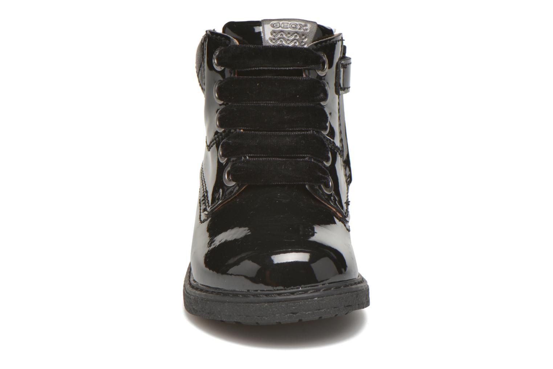 Bottines et boots Geox B Glimmer G.A Noir vue portées chaussures