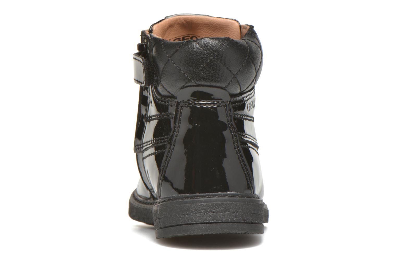 Bottines et boots Geox B Glimmer G.A Noir vue droite