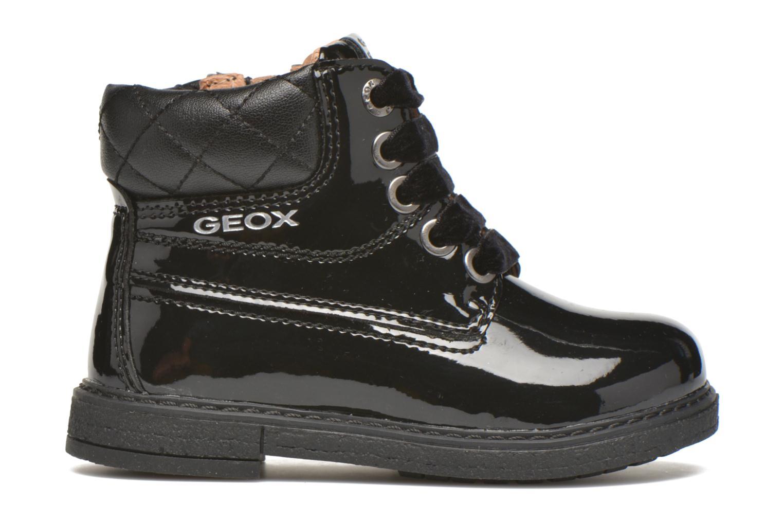 Bottines et boots Geox B Glimmer G.A Noir vue derrière