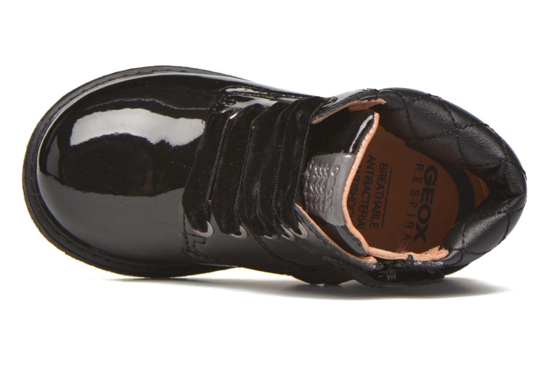 Bottines et boots Geox B Glimmer G.A Noir vue gauche