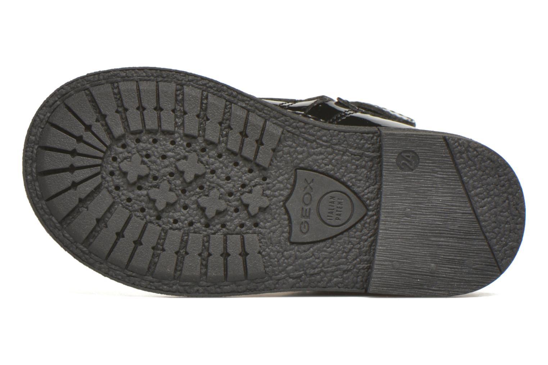 Bottines et boots Geox B Glimmer G.A Noir vue haut