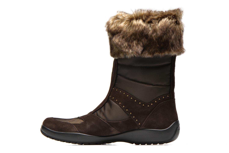 Bottines et boots Geox D Arabelle B D44Y9C Marron vue face