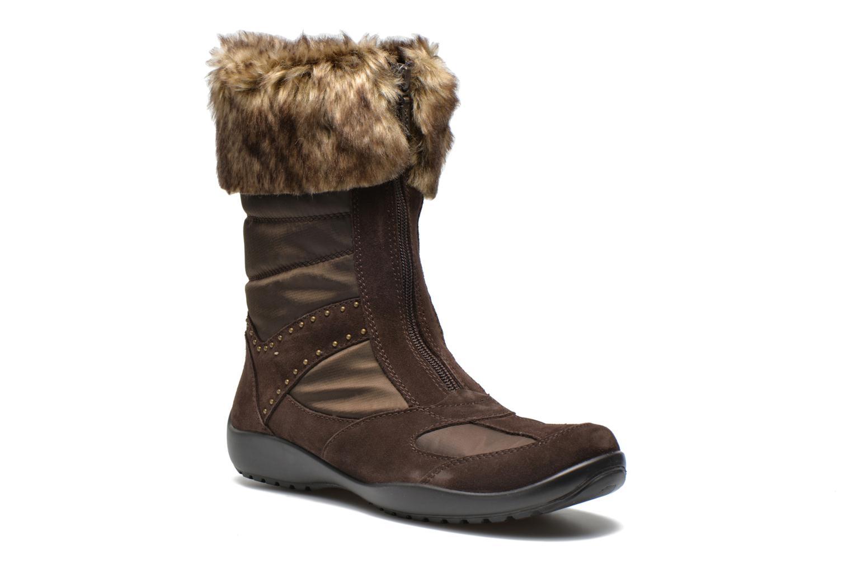 Bottines et boots Geox D Arabelle B D44Y9C Marron vue détail/paire