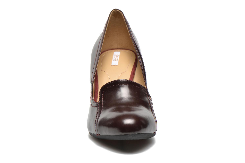 Escarpins Geox D Donyale B D44B9B Bordeaux vue portées chaussures