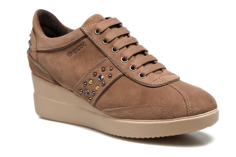 Sneaker Geox D Stardust B D4430B braun detaillierte ansicht/modell