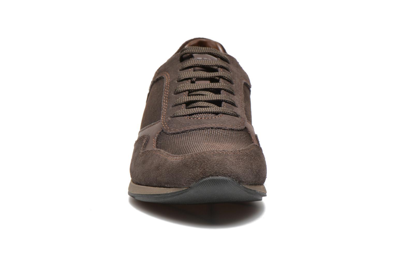 Baskets Geox U Marvin B U44X6B Marron vue portées chaussures