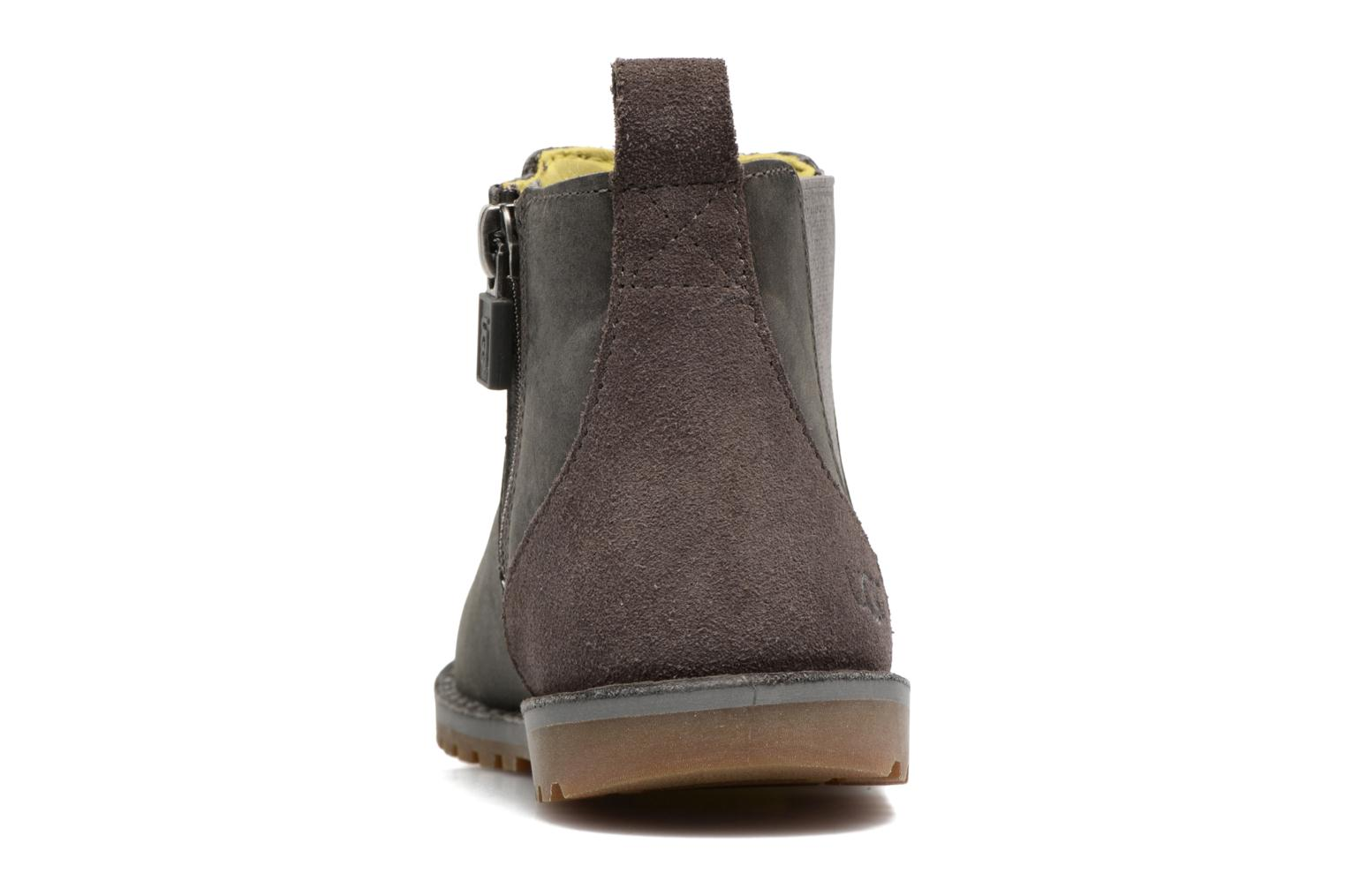Ankle boots UGG T Callum Grey view from the right