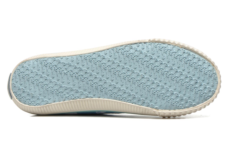 Baskets Pepe jeans Industry Flag Low Cut 2 Bleu vue haut