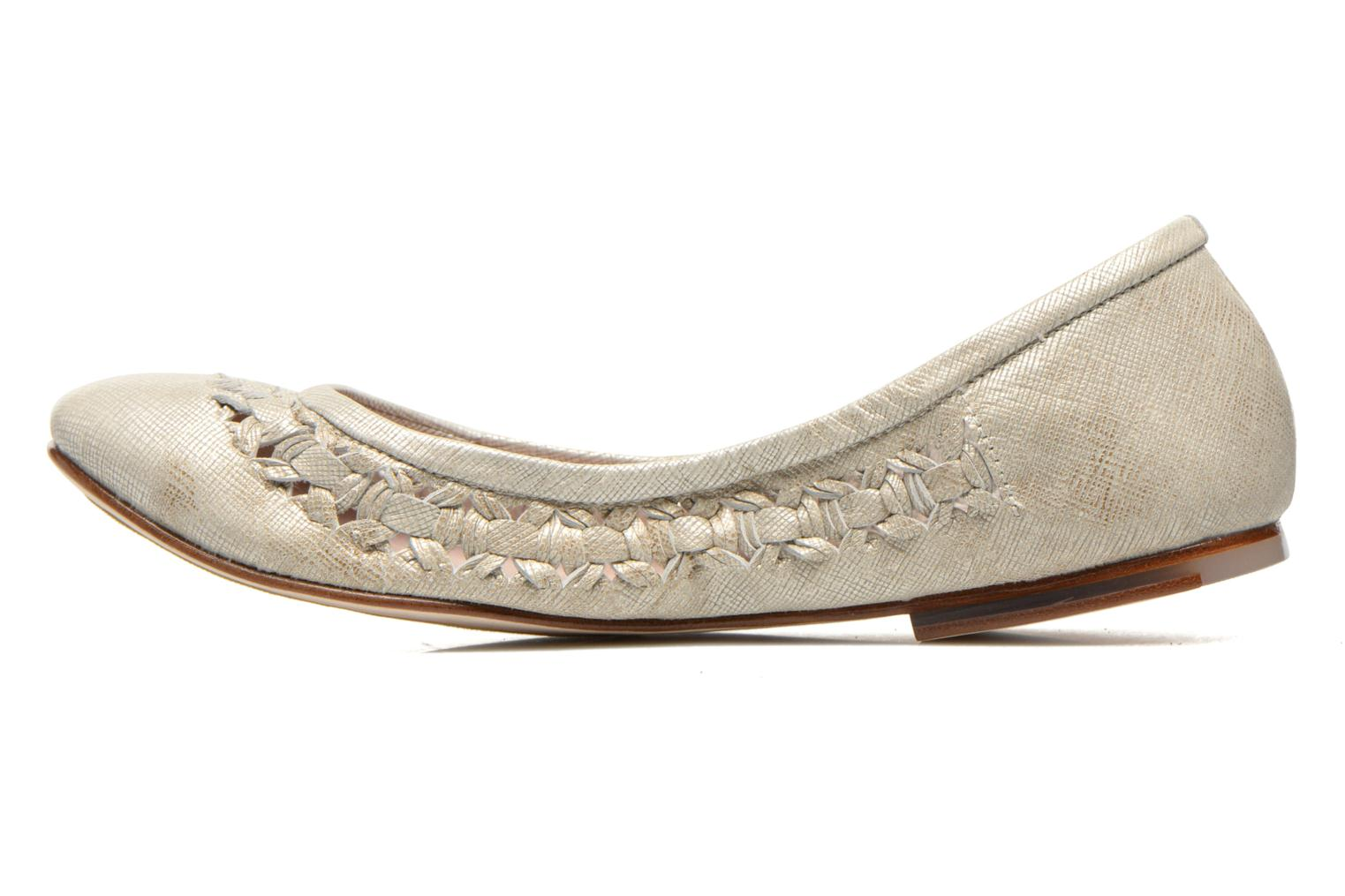 Ballet pumps Bloch Alba Silver front view
