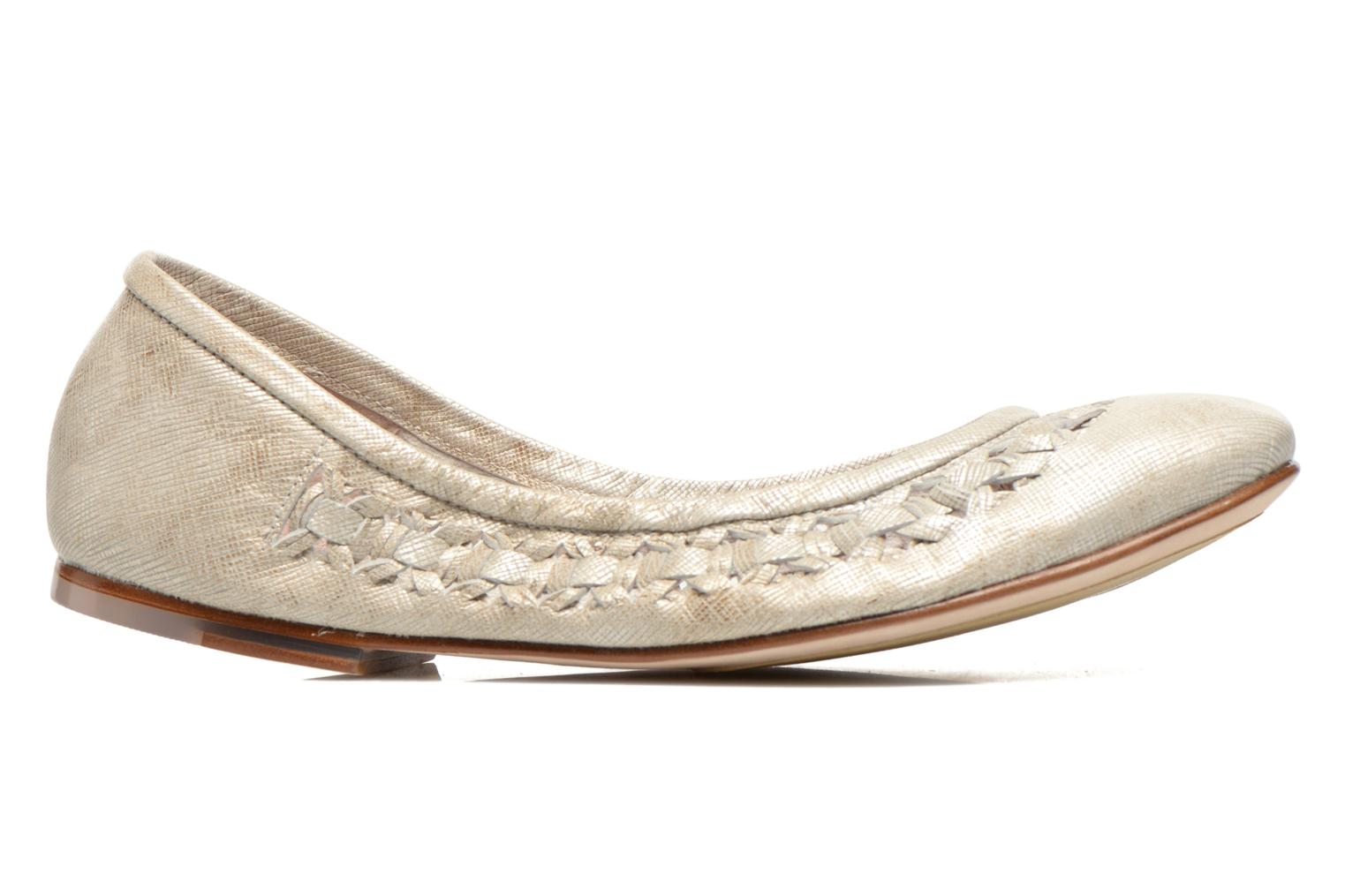 Ballet pumps Bloch Alba Silver back view