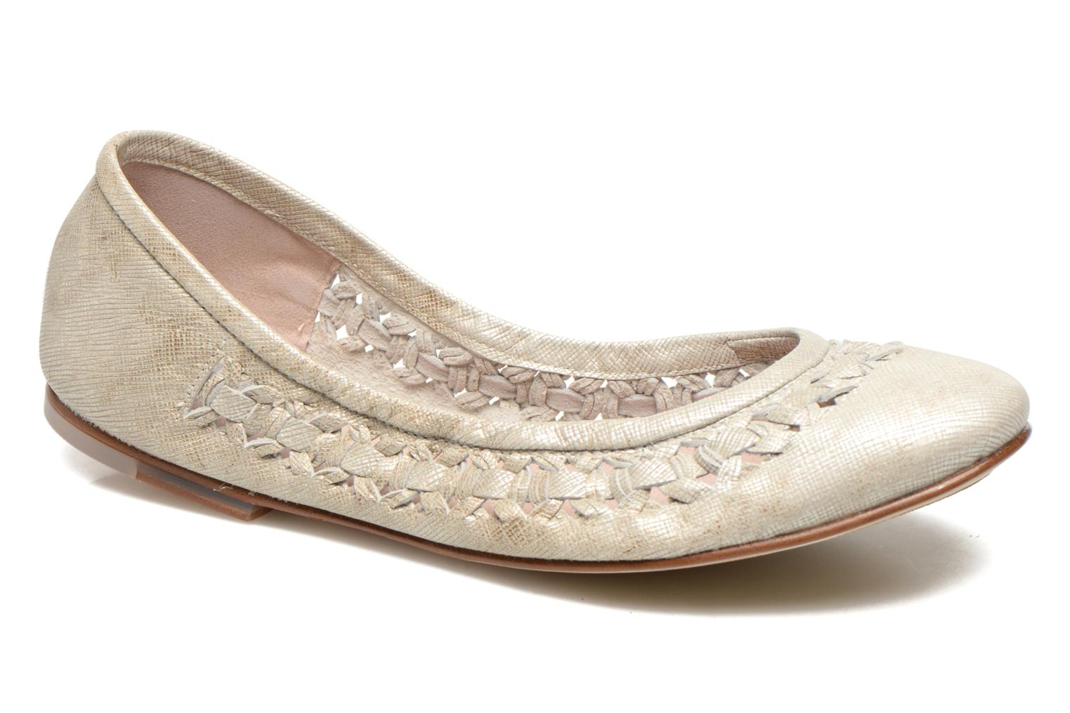 Ballet pumps Bloch Alba Silver detailed view/ Pair view
