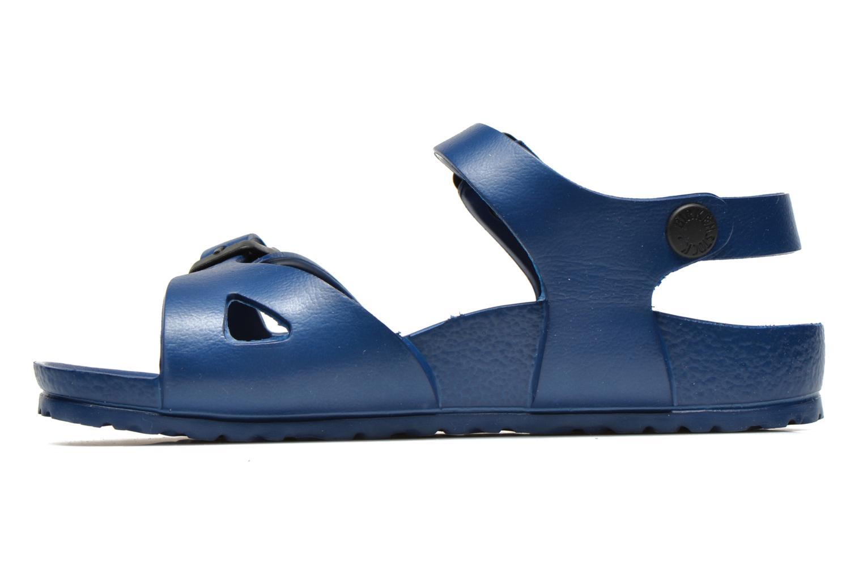 Sandales et nu-pieds Birkenstock Rio EVA Bleu vue face