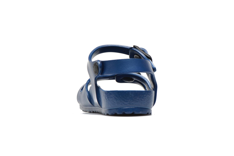 Sandales et nu-pieds Birkenstock Rio EVA Bleu vue droite