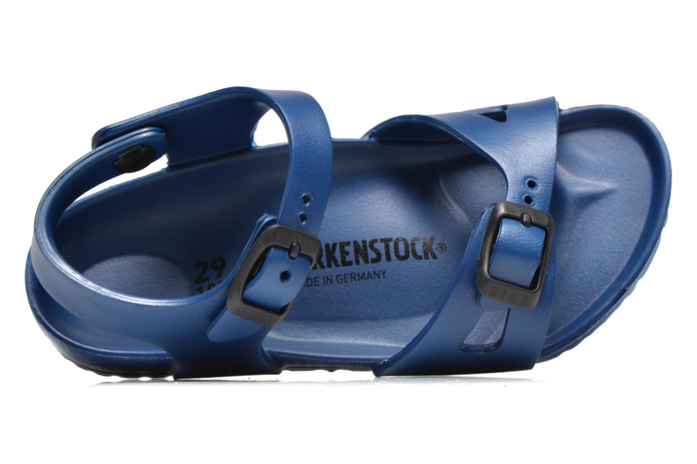 Sandales et nu-pieds Birkenstock Rio EVA Bleu vue gauche