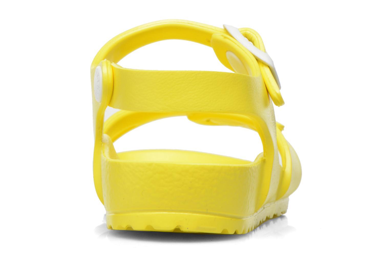 Sandales et nu-pieds Birkenstock Rio EVA Jaune vue droite