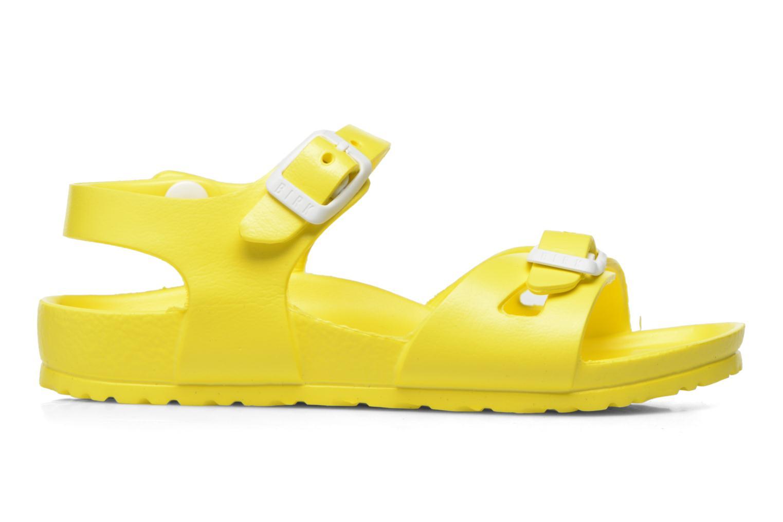 Sandales et nu-pieds Birkenstock Rio EVA Jaune vue derrière