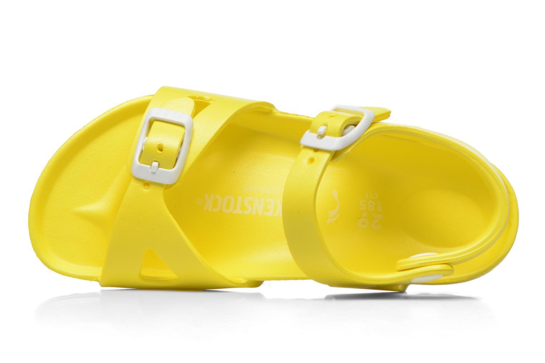 Sandales et nu-pieds Birkenstock Rio EVA Jaune vue gauche