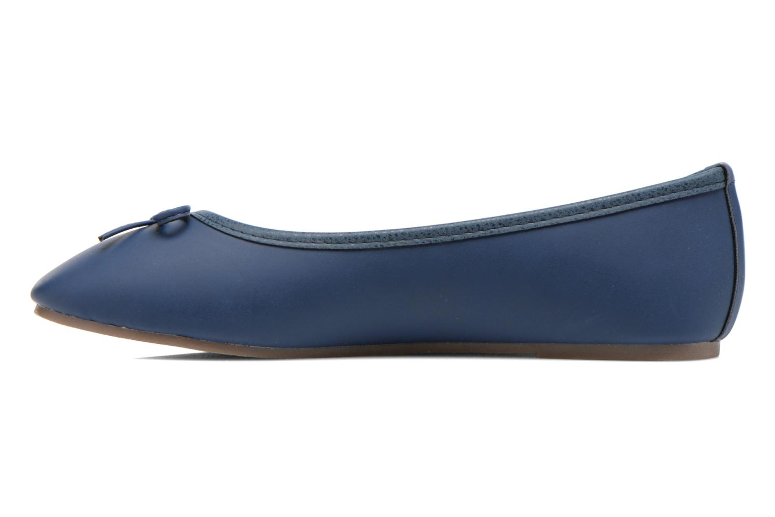 Ballerines I Love Shoes Suflatine Bleu vue face