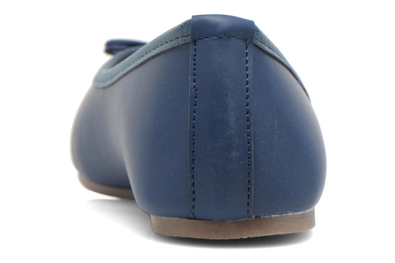 Ballerinas I Love Shoes Suflatine blau ansicht von rechts