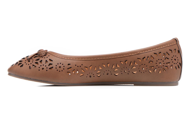 Ballerines I Love Shoes Suflatou Marron vue face