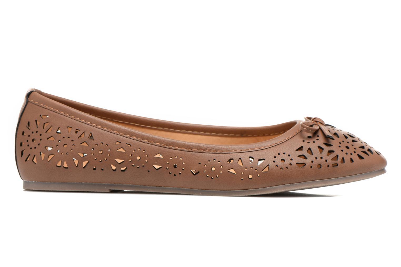 Ballerines I Love Shoes Suflatou Marron vue derrière