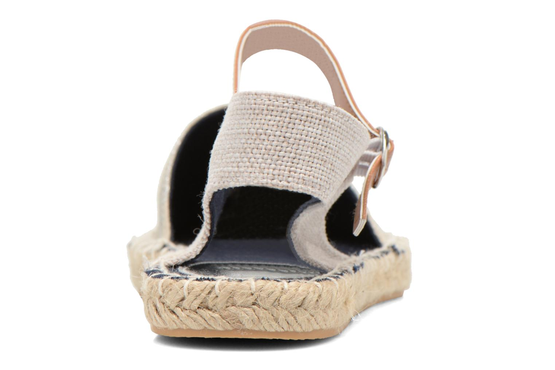 Sandali e scarpe aperte I Love Shoes Supik Argento immagine destra
