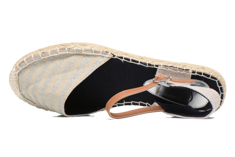 Sandaler I Love Shoes Supik Sølv se fra venstre