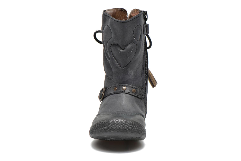 Bottes Babybotte Amaia Noir vue portées chaussures